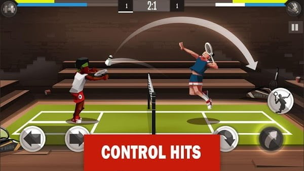 Tai hack Badminton League MOD Free Mua sam Viet hoa