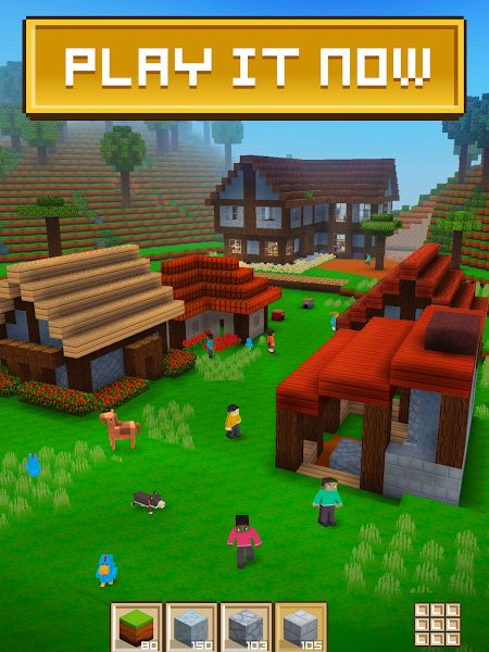 Tai hack Block Craft 3D MOD APK IOS Mien phi