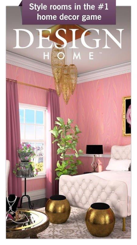 Tai hack Design Home MOD APK IOSKeys Mien phi