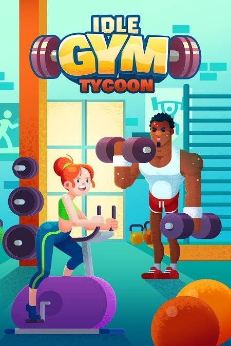 Tai hack Download Idle Fitness Gym Tycoon MOD APK v154
