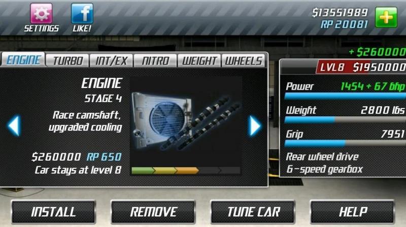 Tai hack Drag Racing MOD APK IOS Mien phi