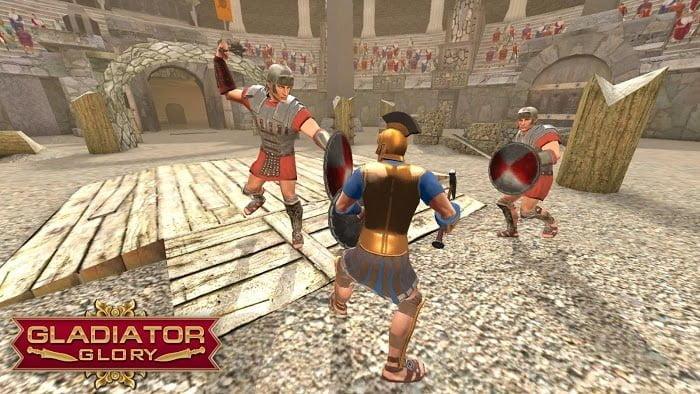 Tai hack Gladiator Glory MOD TienStupid Bots Crack