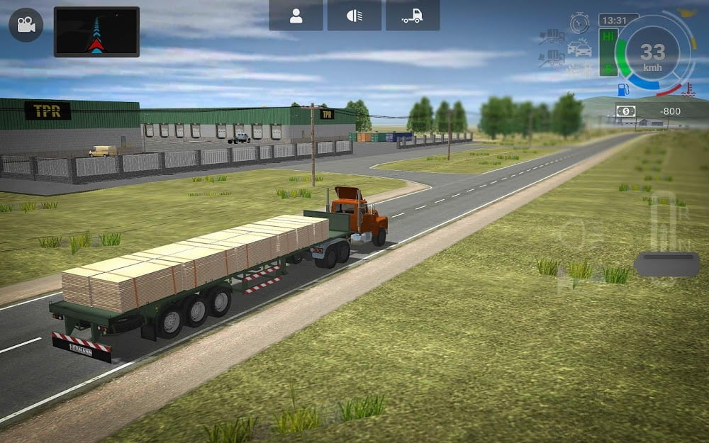 Tai hack Grand Truck Simulator 2 v1017 MOD APK Vo