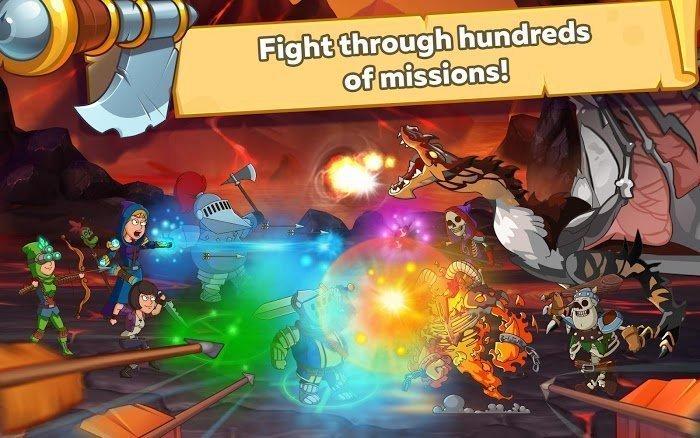 Tai hack Hustle Castle Fantasy Kingdom Tieng viet