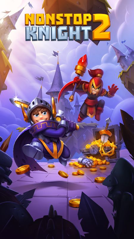 Tai hack Nonstop Knight 2 MOD Many Features Tieng viet