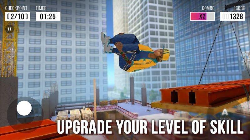 Tai hack Parkour Simulator 3D MOD Vo han Respects Mien