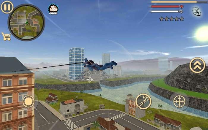Tai hack Rope Hero Vice Town MOD TienPointsVIP Viet hoa