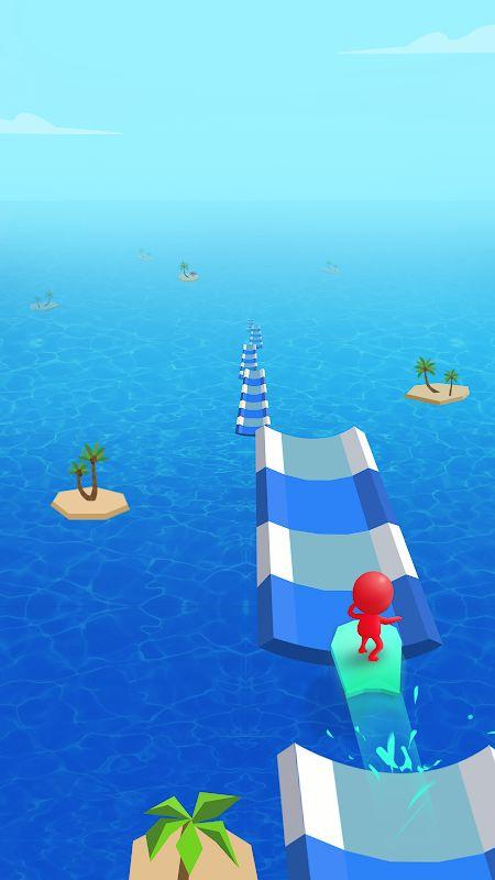 Tai hack Water Race MOD GemsMo khoa Song Viet hoa