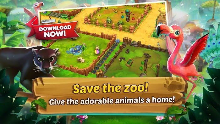 Tai hack Zoo 2 Animal Park MOD Tien xuKim cuong
