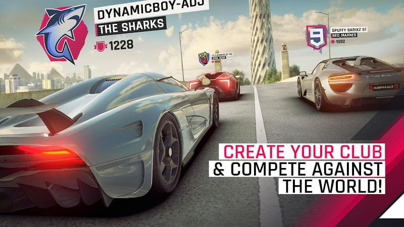 asphalt 9 legends mod unlimited nitrospeed moddroid 4