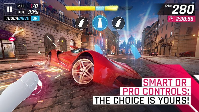 asphalt 9 legends mod unlimited nitrospeed moddroid 5