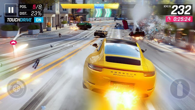 asphalt 9 legends mod unlimited nitrospeed moddroid 6