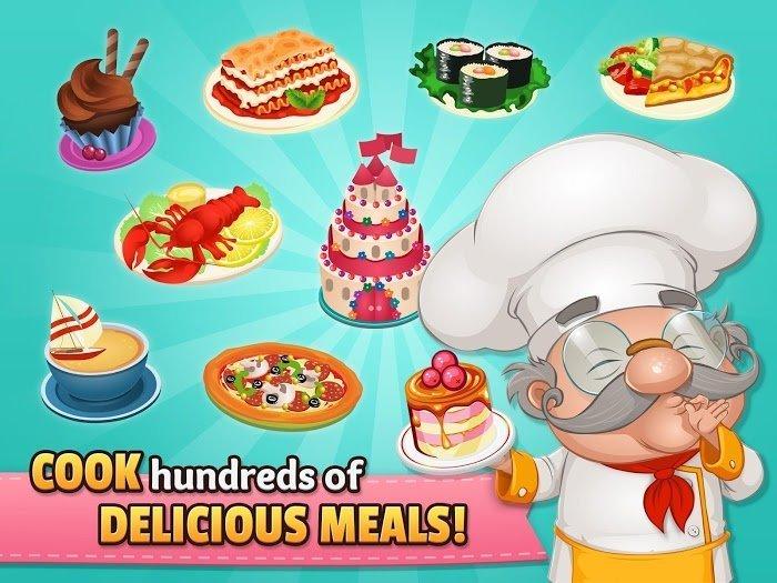 cafeland world kitchen mod moneymax level moddroid