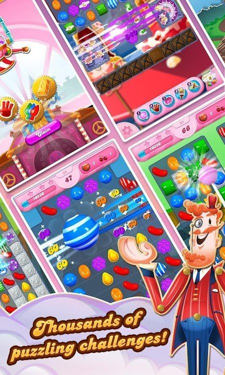 candy crush saga mod moveslivesall level moddroid 1