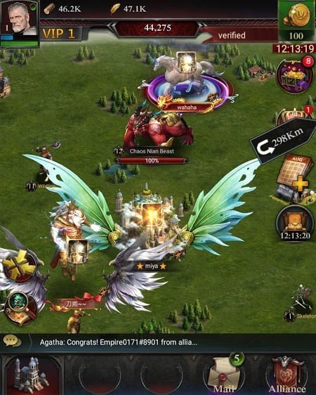 clash of kings mod moneyresources moddroid