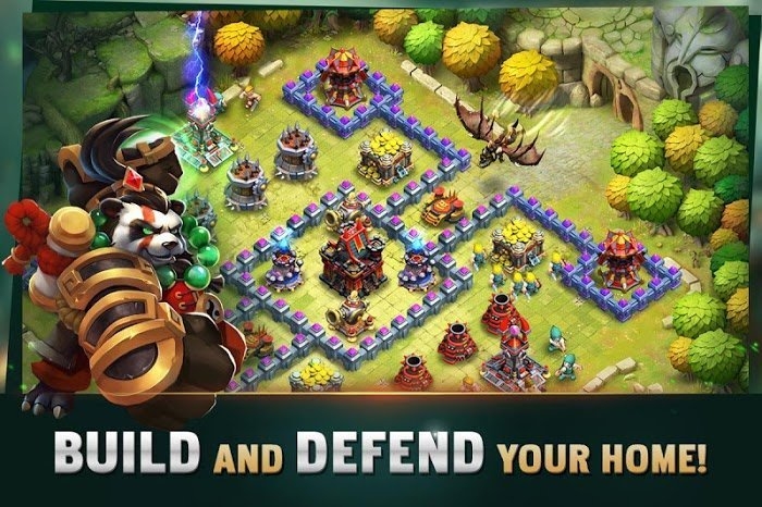 clash of lords 2 guild castle moddroid
