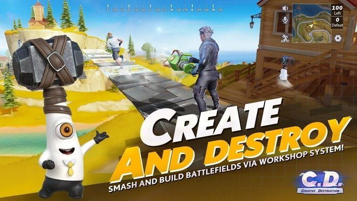 creative destruction mod full moddroid 3