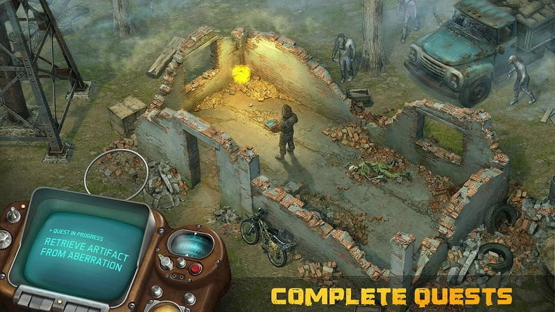 dawn of zombies mod unlocked items moddroid 2