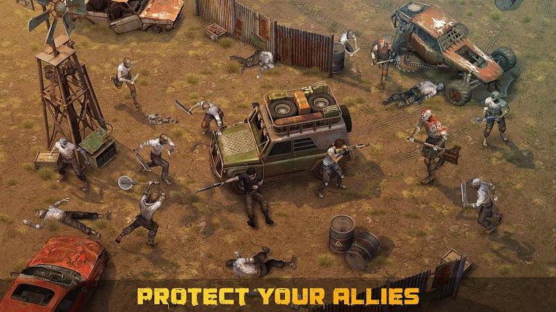 dawn of zombies mod unlocked items moddroid 3