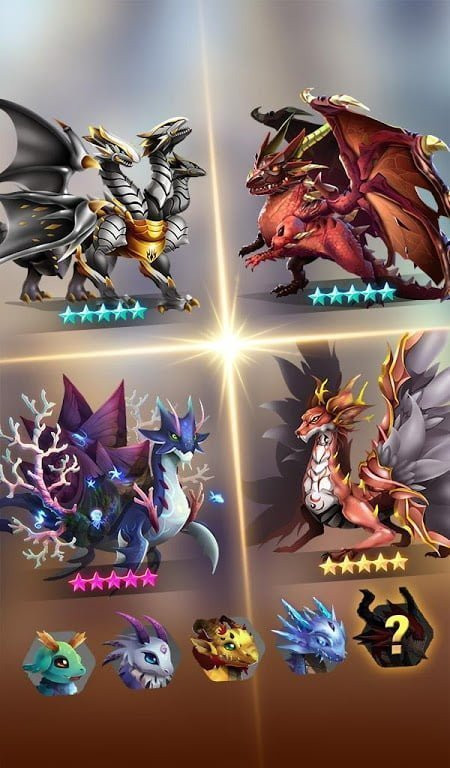 dragon epic idle merge mod god mode moddroid 3