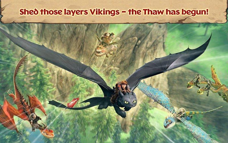 dragons rise of berk mod unlimited runescardsfish moddroid 1