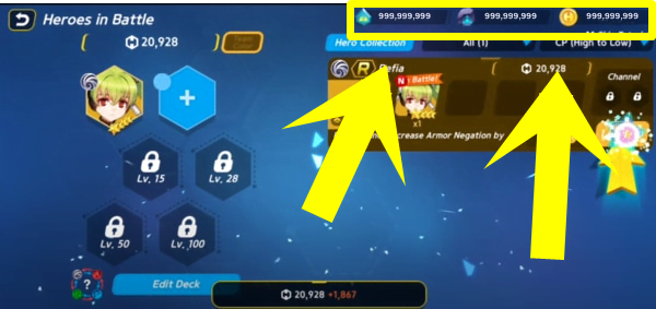 gift code Hero Ball Z