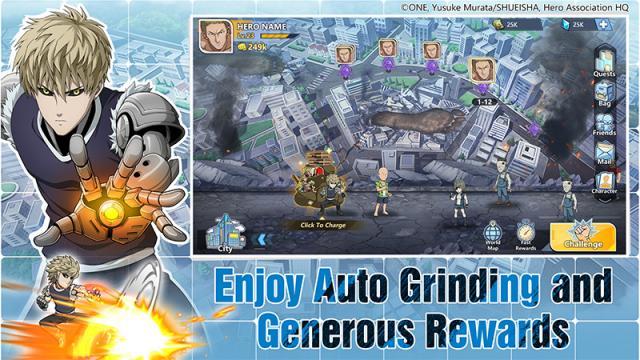 gift code One Punch Man Road To Hero 2.0