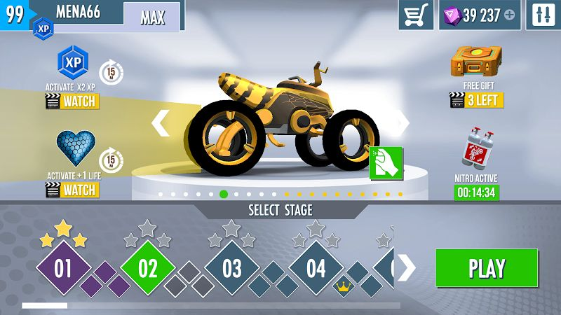 gravity rider zero mod all unlocked moddroid 4