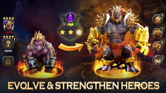 hack Idle Arena: Evolution Legends