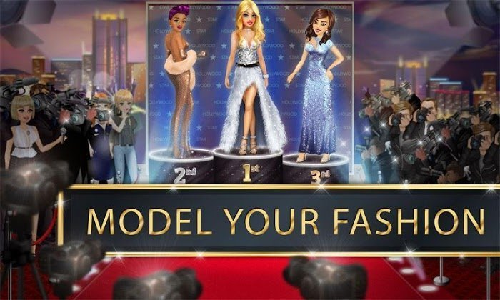 hollywood story mod free shopping moddroid 4