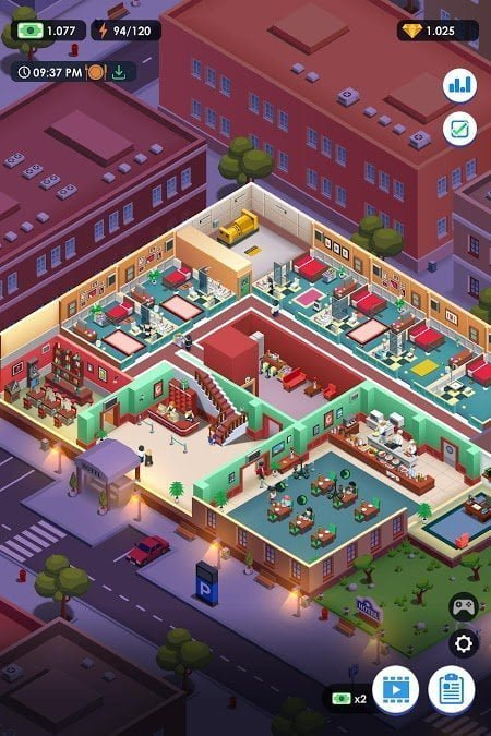 hotel empire tycoon mod unlimited money moddroid 2