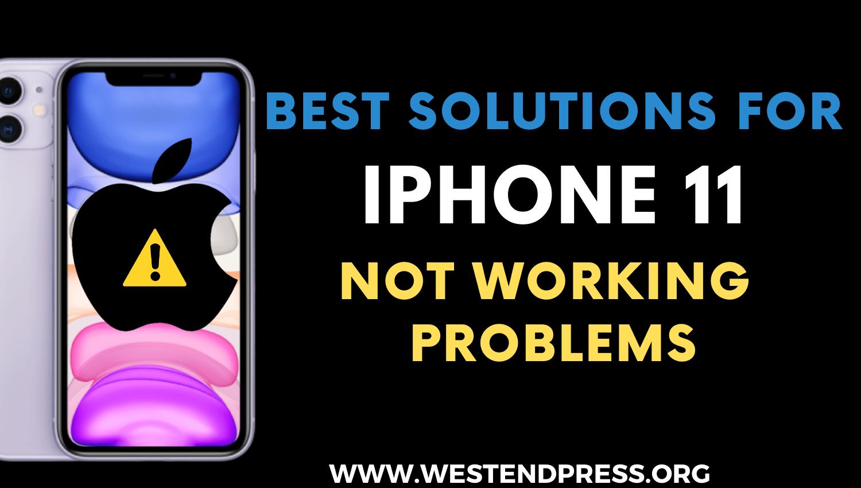 Giải pháp tốt nhất cho iPhone 11 không hoạt động