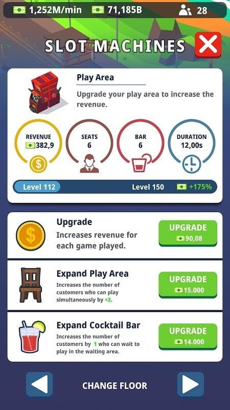 idle casino manager mod free upgrade moddroid 3