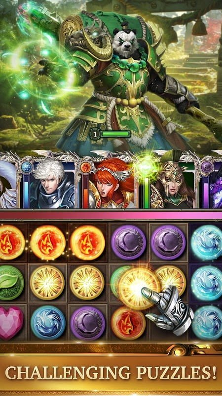 legendary game of heroes mod quick win moddroid