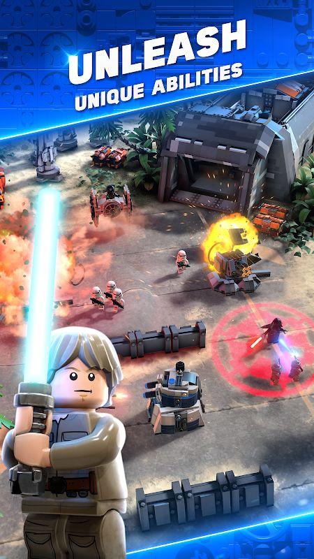 lego star wars battles mod unlimited energy moddroid 4
