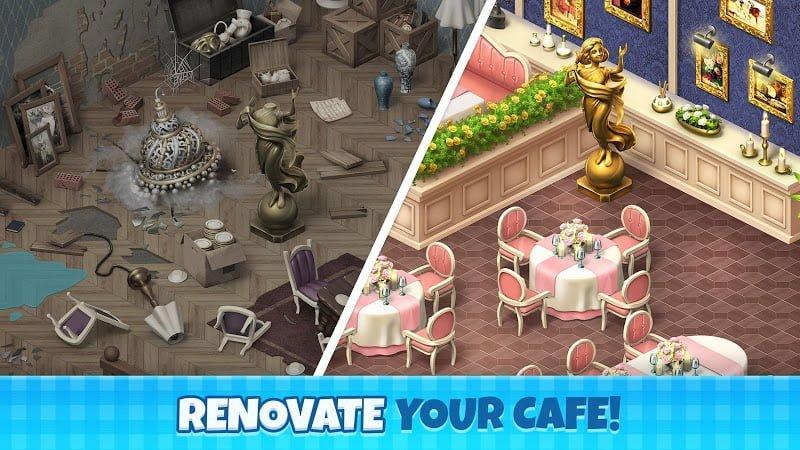 manor cafe mod unlimited money moddroid 1