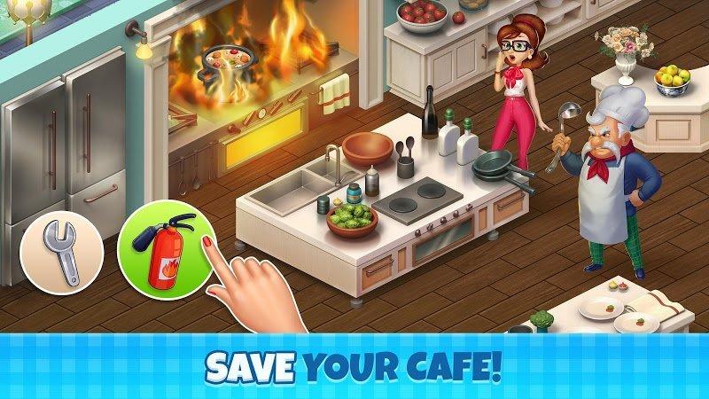 manor cafe mod unlimited money moddroid