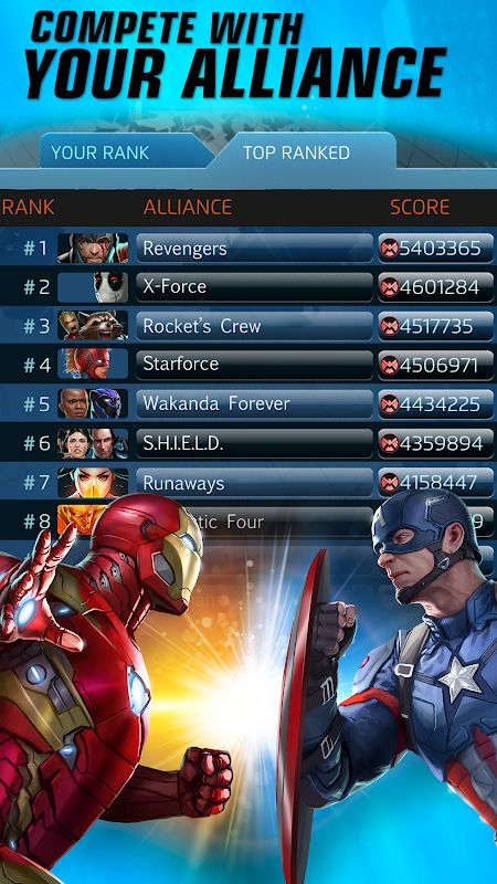 marvel puzzle quest mod unlimited crystals moddroid 1