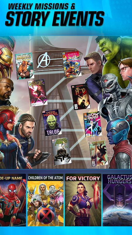 marvel puzzle quest mod unlimited crystals moddroid 2