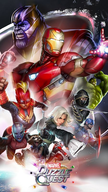 marvel puzzle quest mod unlimited crystals moddroid 3