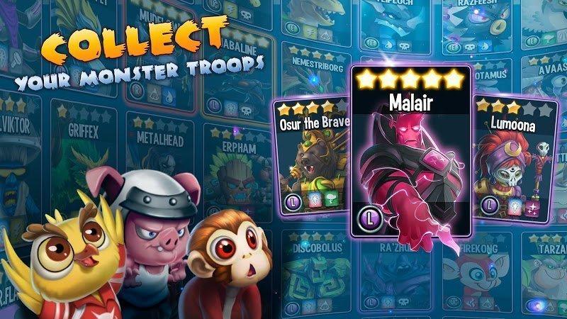 monster legends mod damage3 stars moddroid 2