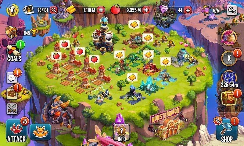 monster legends mod damage3 stars moddroid 5