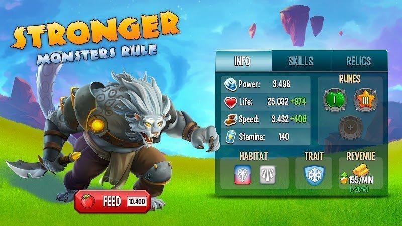 monster legends mod damage3 stars moddroid