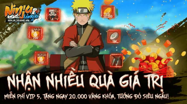 Ninja Làng Lá mod