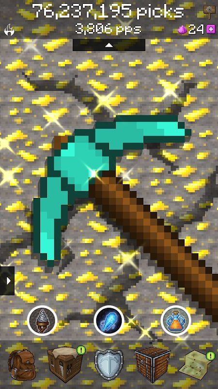 pickcrafter idle craft game mod unlimited money moddroid