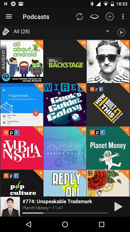 podcast addict donate version moddroid 3