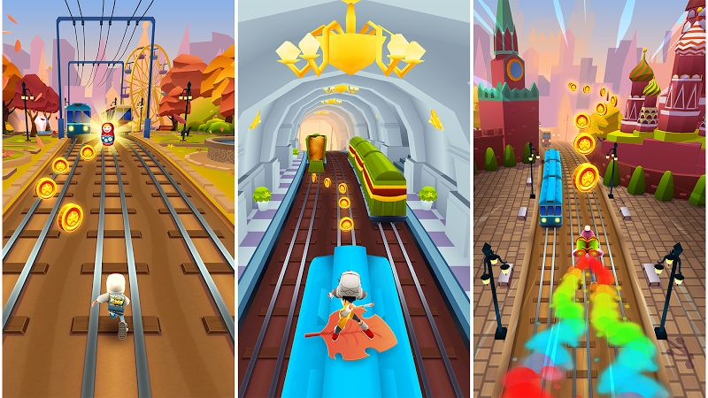 subway surfers mod coinskeysall characters moddroid 2 2