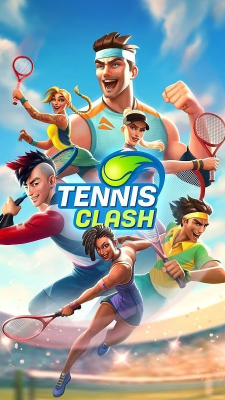 tennis clash moddroid 1