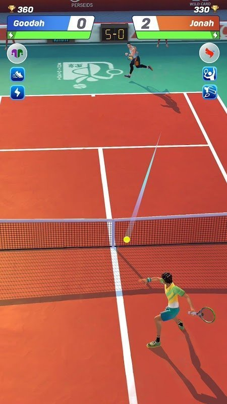 tennis clash moddroid 2