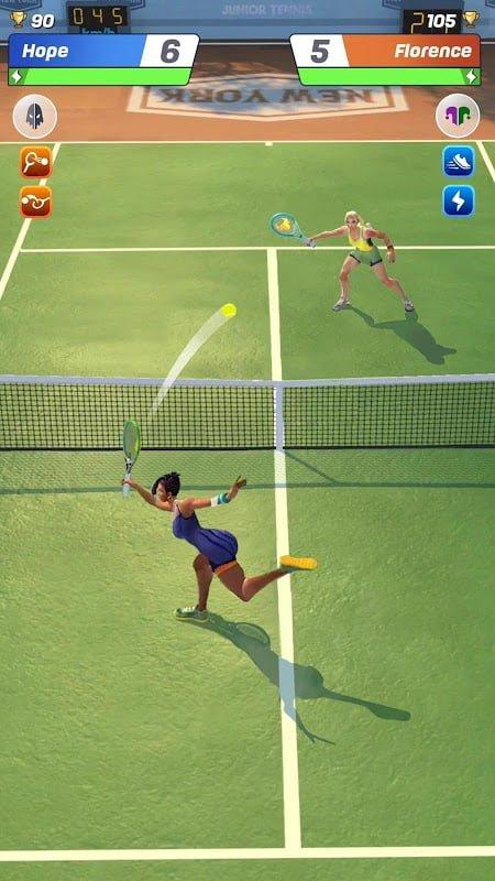 tennis clash moddroid 3
